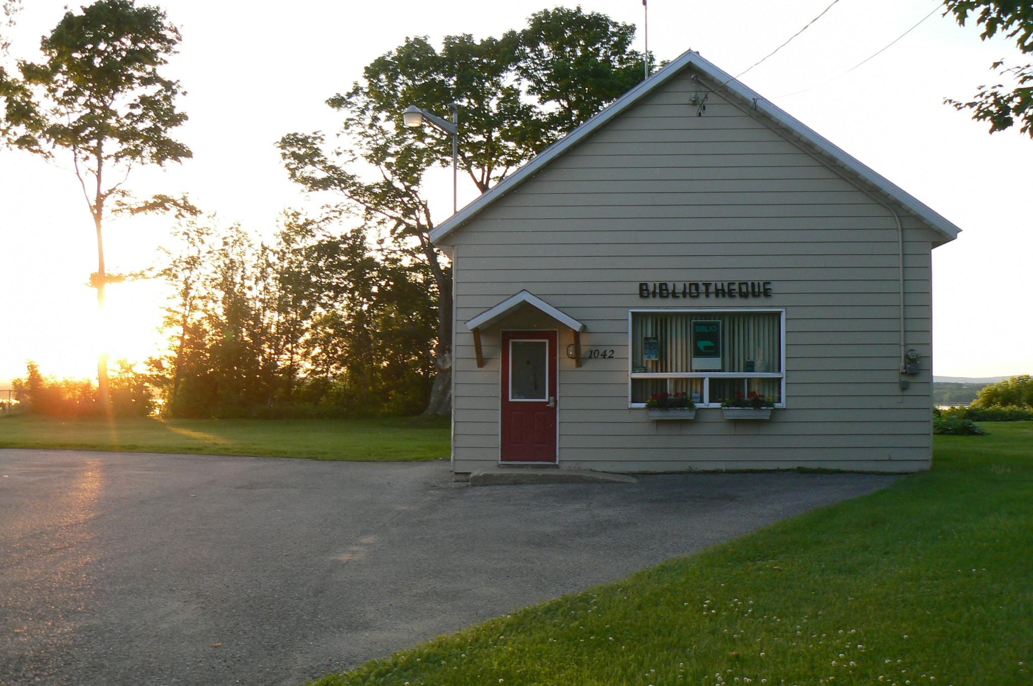 Bibliothèque de Deschaillons-sur-Saint-Laurent