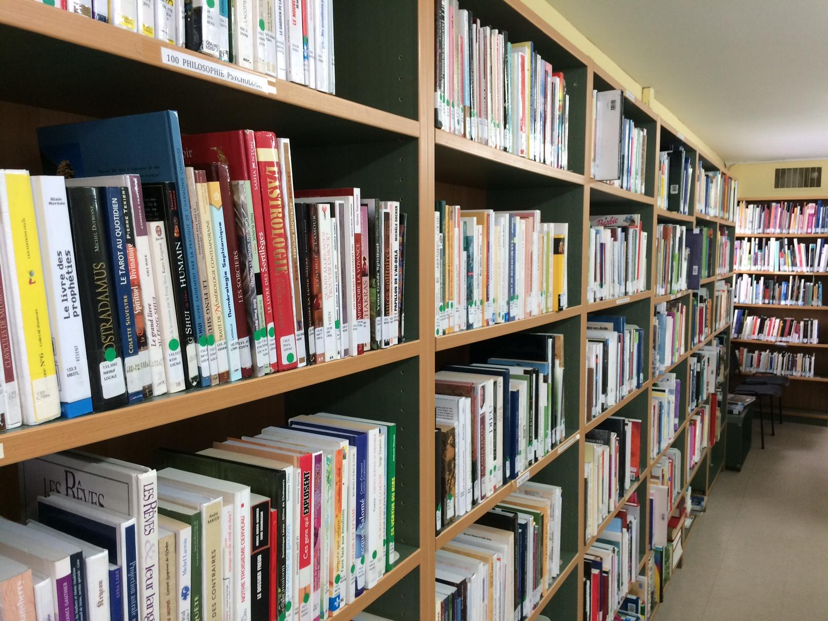Bibliothèque de Sainte-Béatrix